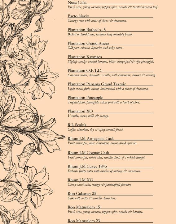 Drinks menu page 11
