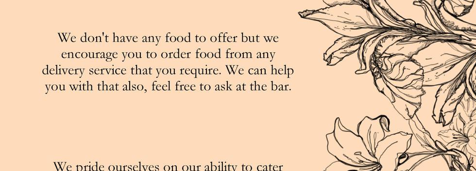 Drinks menu page 2