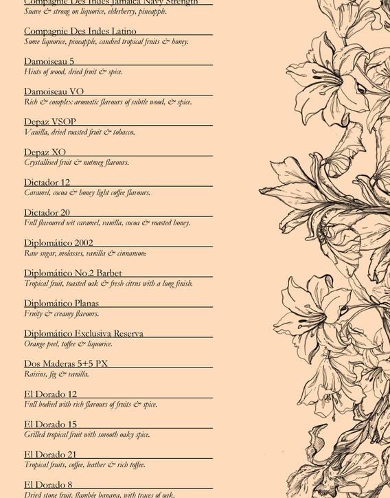 Drinks menu page 8