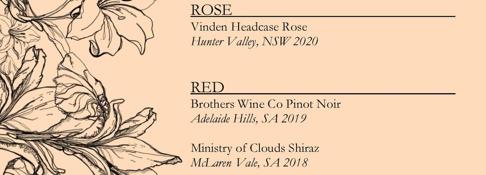 Drinks menu page 5
