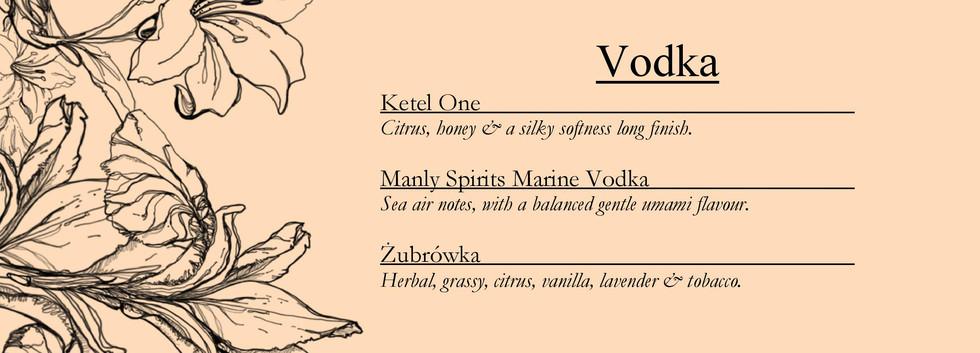 Drinks menu page 13