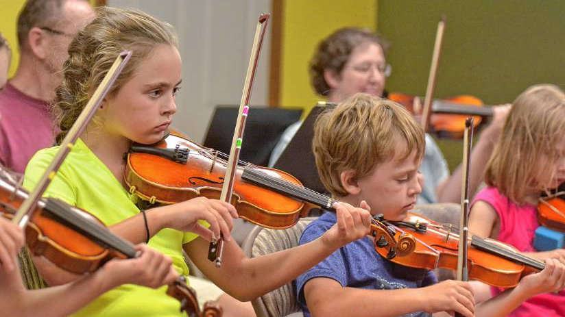 Family Violin Camp - 2 students