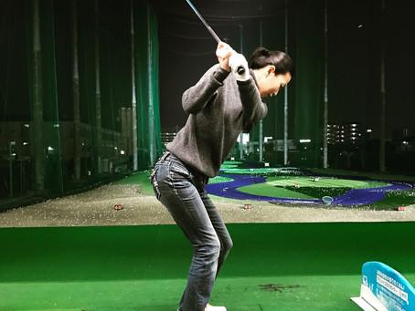 最近ゴルフを始めました!