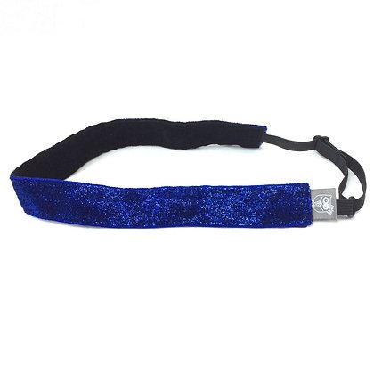 Blue Glitter Velvet