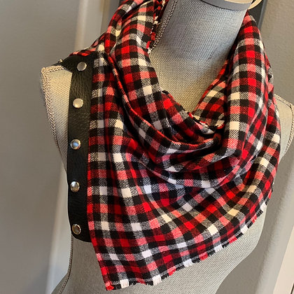 Red, Black and White Buffalo Plaid