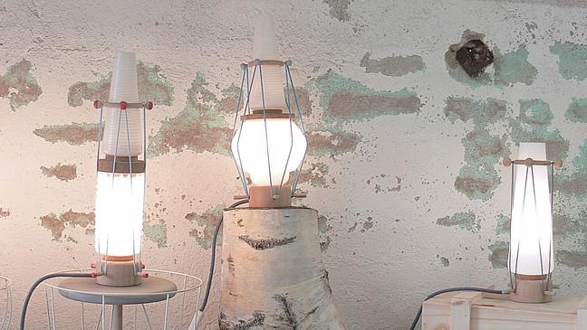 Les petites lampes de chez             Quatre & Trois 7