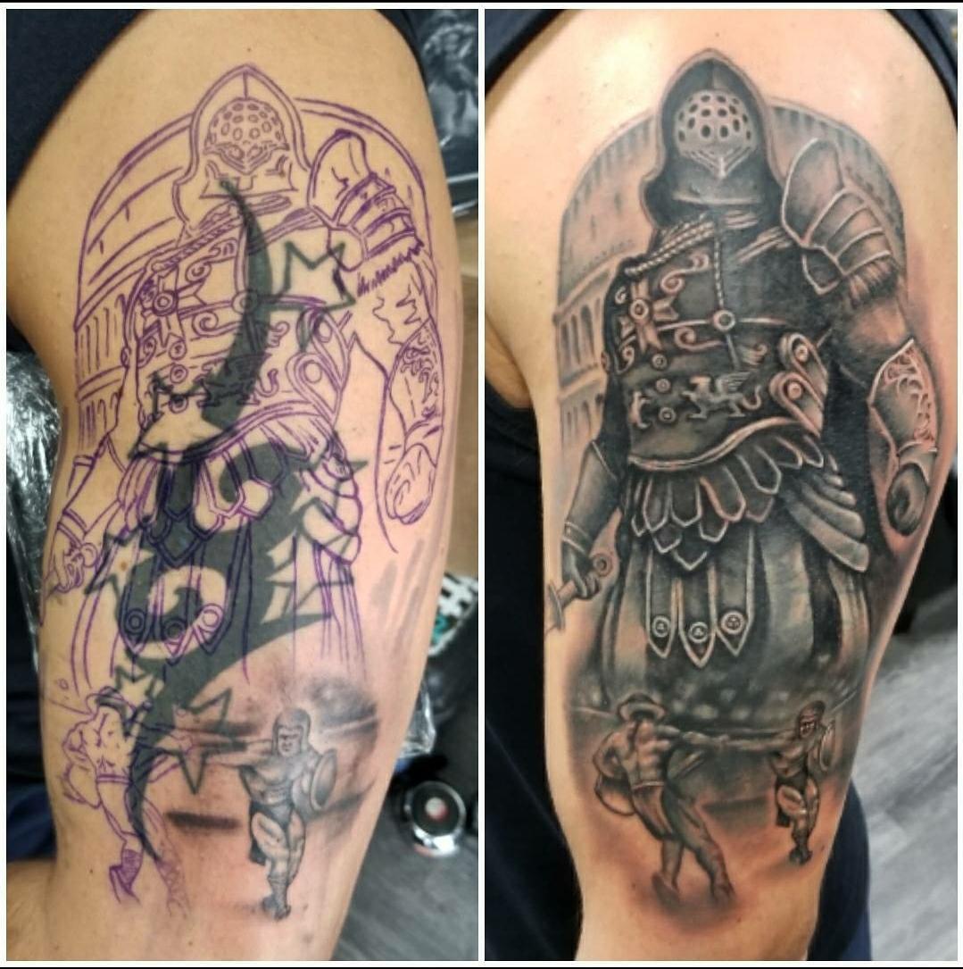 Gladiator/Tribal Cover Up