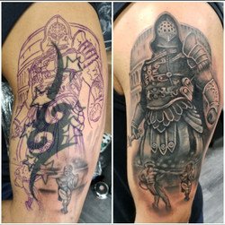 Gladiator/Tribal Cover Up