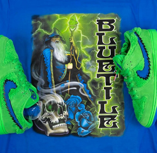 Wizard - Green/Blue
