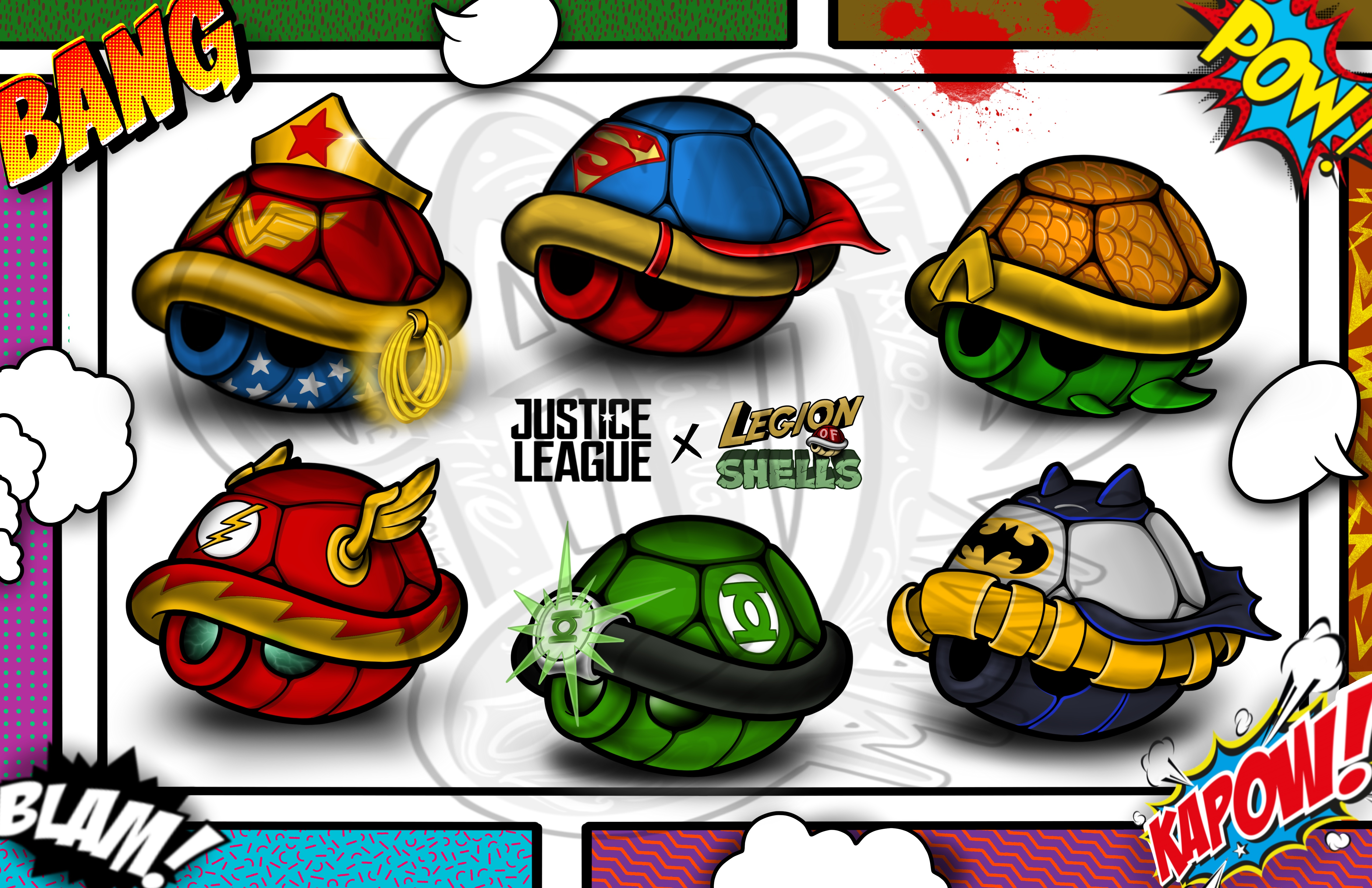 Justice League Shells