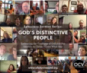 God's Distinctive People, May Sermon Ser