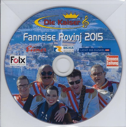 DVD - Fanreise 2015