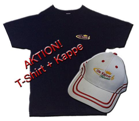 T-Shirt + Kappe