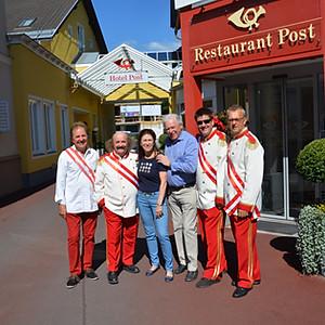 Frühschoppen Hotel Post Velden