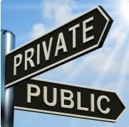 How is private cloud hosting different from public cloud?