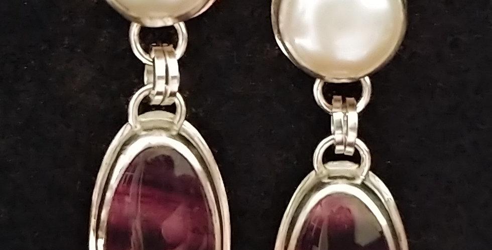 Fluorite & Pearls