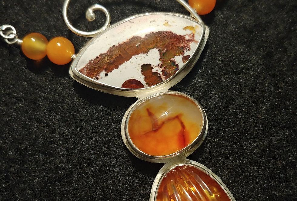 Orange Pendant
