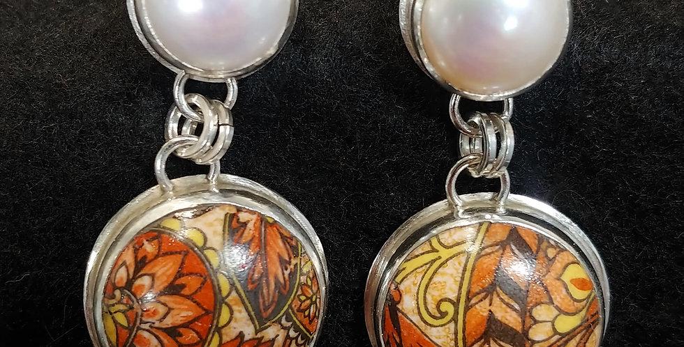 Vintage Glass & Pearls