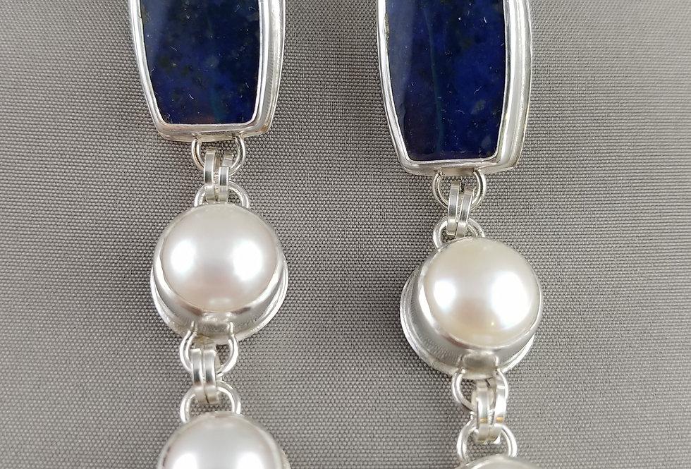 Sugilite & Pearls
