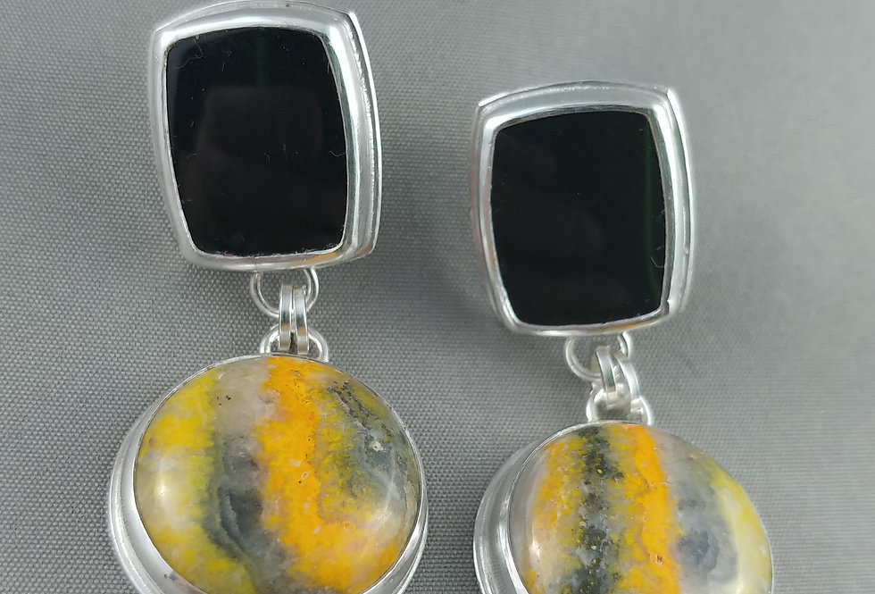 Bumblebee Jasper & Black Onyx