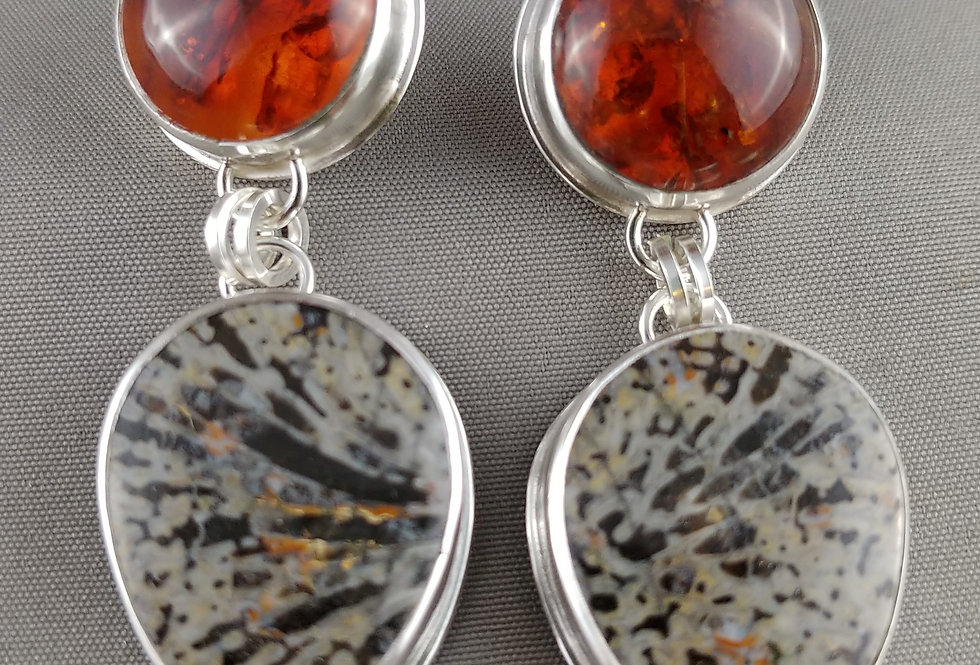 Amber & Fossil Coral