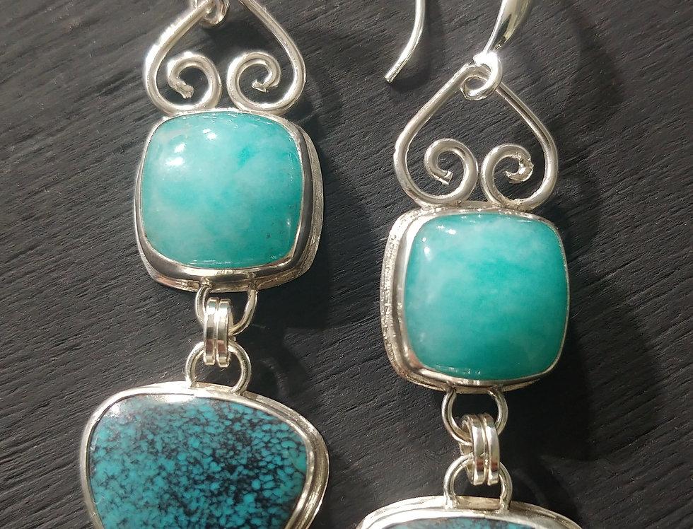 Chinese Turquoise & Amazonite