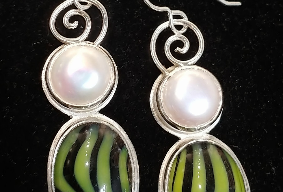 Sterling, Vintage Glass, & Pearl