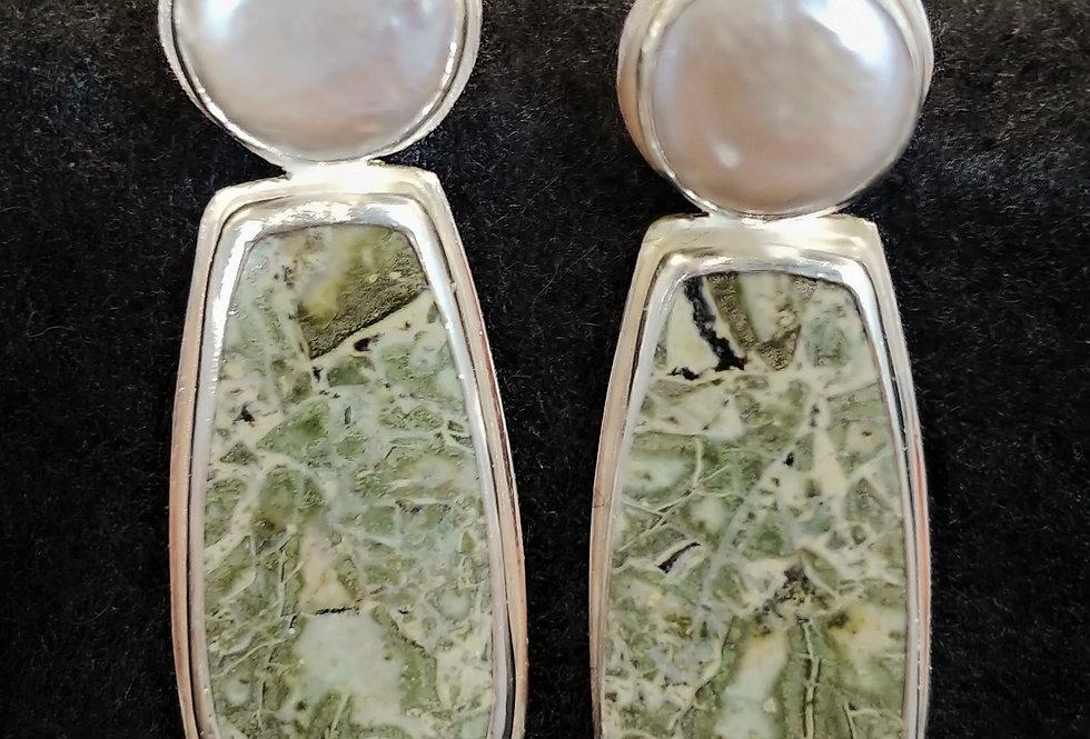 Joberg Green Jasper & Pearl