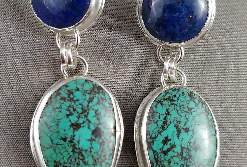 Chinese Turquoise & Lapis