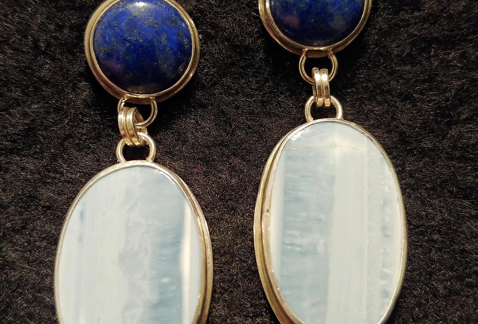 Blue Opal & Lapis