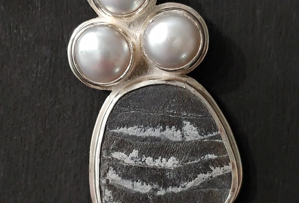 Pearls & Fossil Fern
