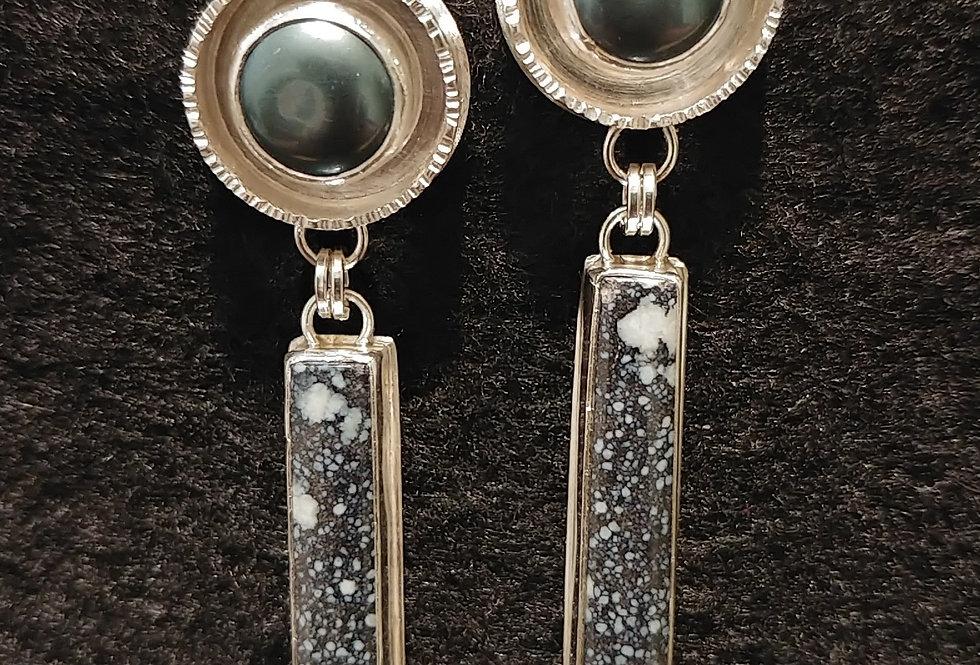 Variscite & Pearls