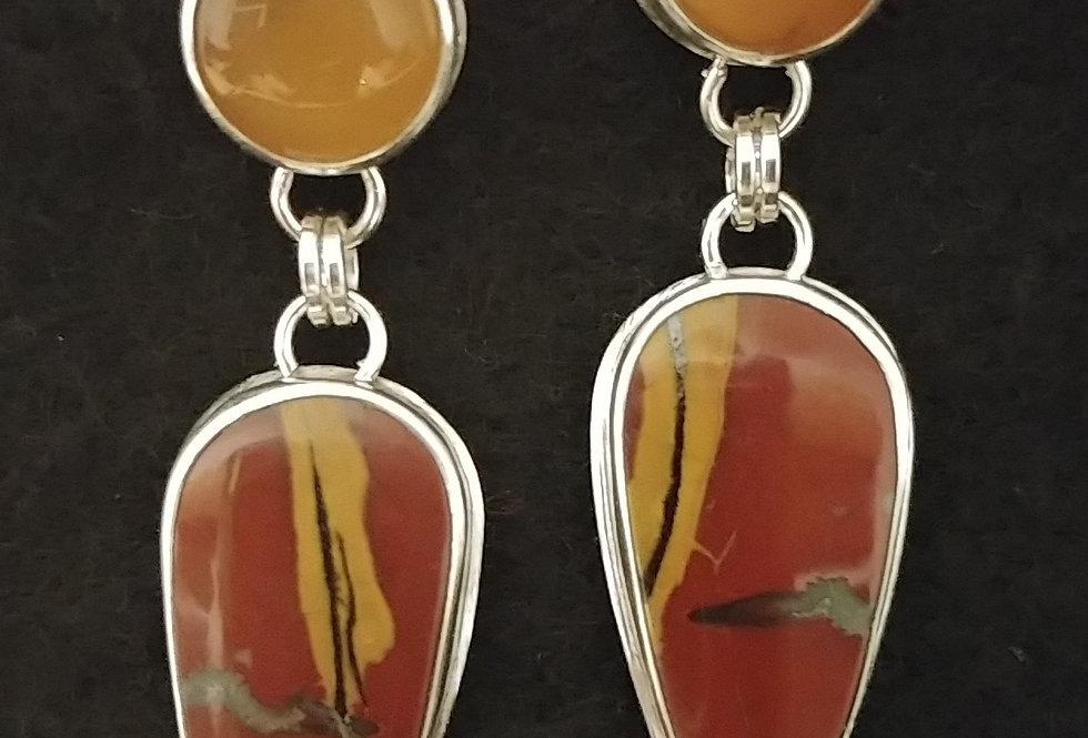 Noreena Jasper & Yellow Opal
