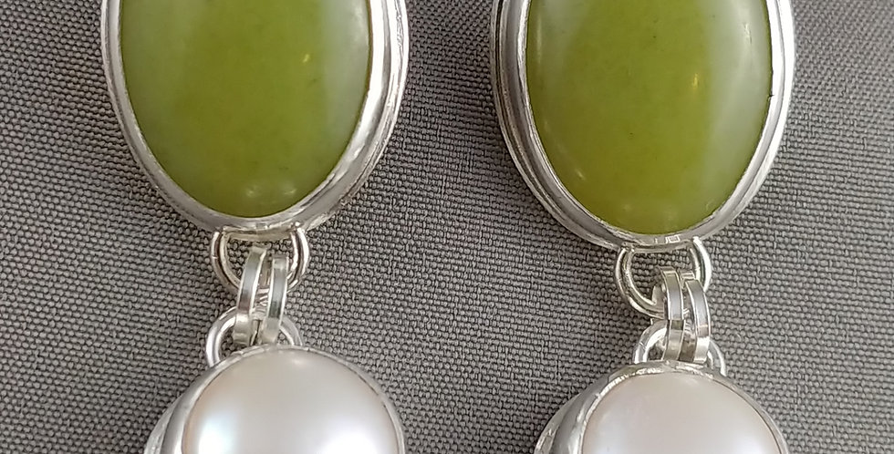 Olive Jade & Pearl