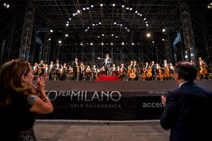concerto in piazza Duomo