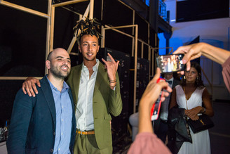 Roberto Saviano e Ghali