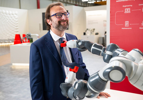 Andrea Cassoni - General Manager Robotics dept. ABB Italia