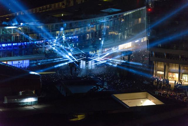 Samsung Laser Show