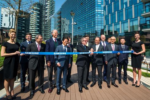 Inaugurazione Samsung District