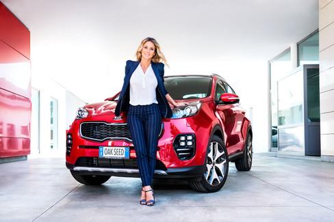 Diletta Leotta per Kia Motors Italia