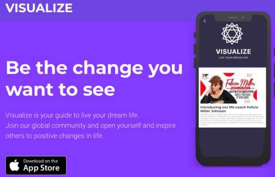 Life Coach on Visualize App