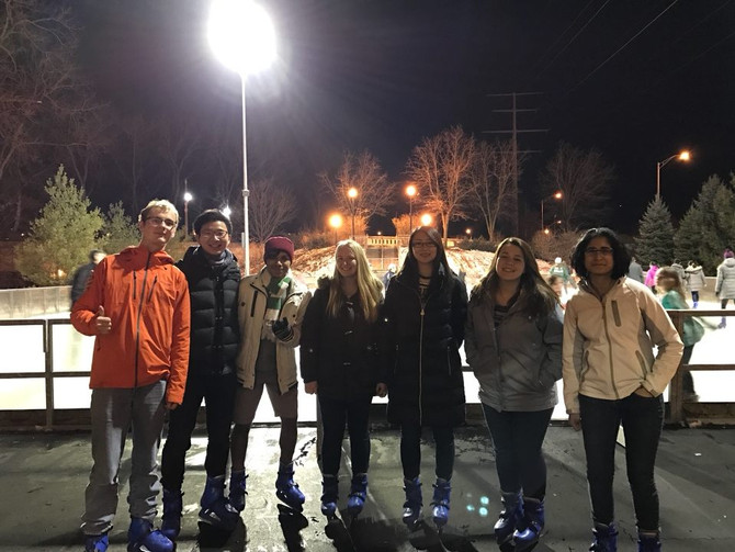 ASME ice skating Social