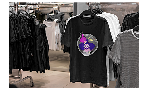 Website GL TEE LA PINK n LYNX Mascot Emb