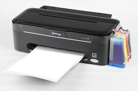 Epson S22 на сублимационных чернилах