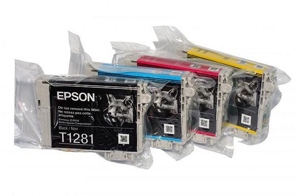 Оригинальные картриджи Epson T1285
