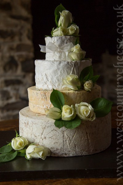 Cheese Wedding cake! Genius! (thats if you like cheese)