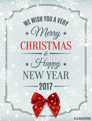 HAVE A FANTASTIC CHRISTMAS, SEE YOU IN 2017!!