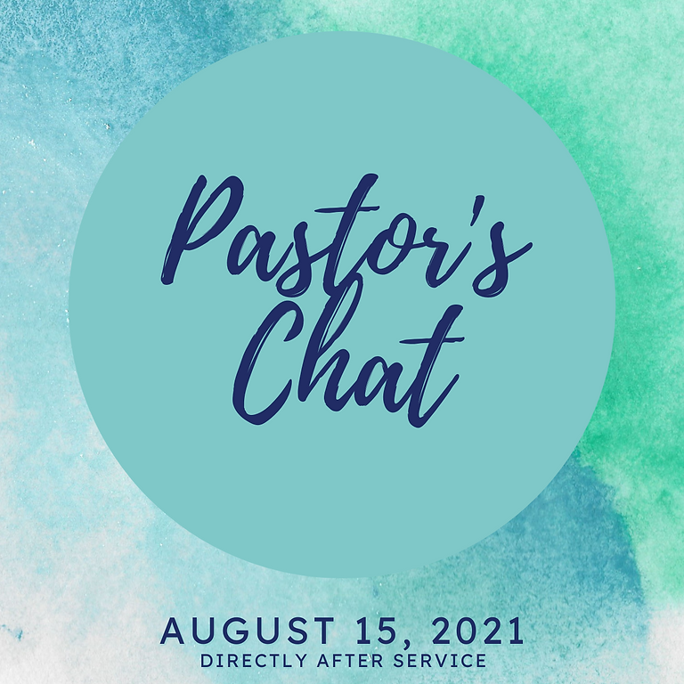 Pastor's Chat