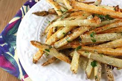 Baked Basil French Fries
