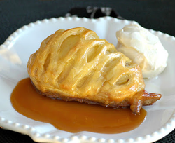 Pear Stuffed Puff Pastry